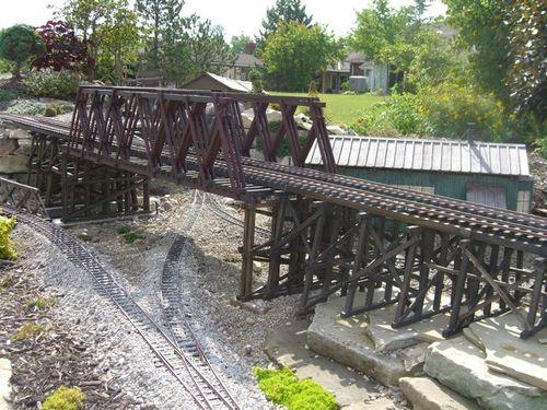 A Large Trestle Bridge