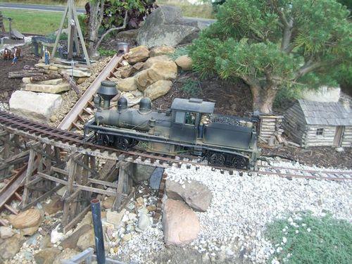 Working Locomotive on the Garden Layout